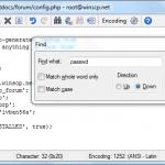Internal Text Editor