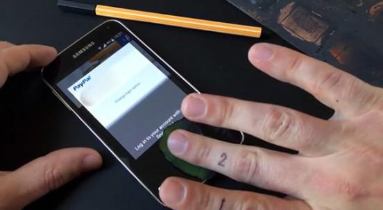 Así se hackea el escáner dactilar del Galaxy S5